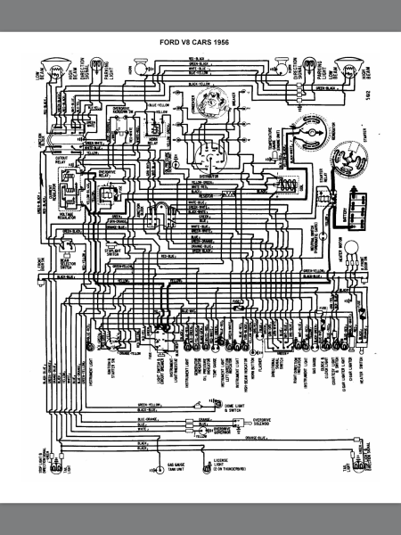 292 Y Block Wiring Diagram