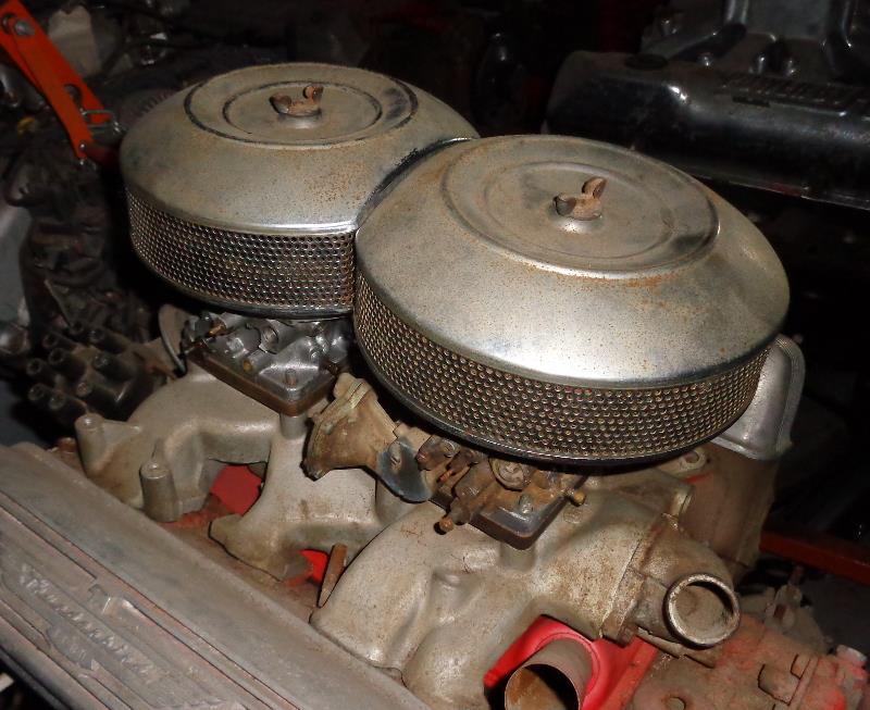 Dual Carburetor Air Cleaner : Air cleaners